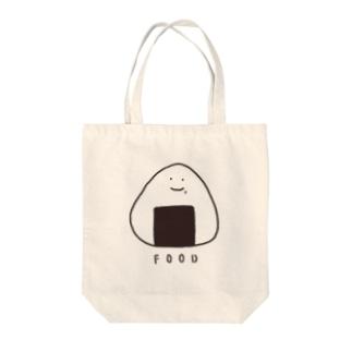 おにぎりさん(こども・おとな) Tote bags