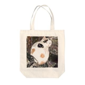 三毛猫のドットさん Tote Bag