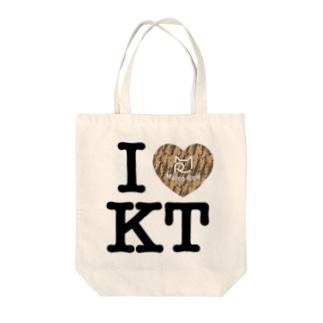 I ♥ Kiji Tora トートバッグ Tote bags