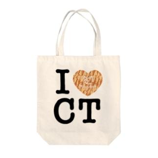 I ♥ Cha Tora トートバッグ Tote bags