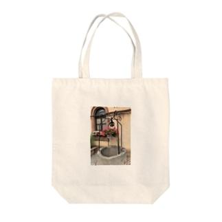 フランス ベーブレンハイムの井戸 Tote bags