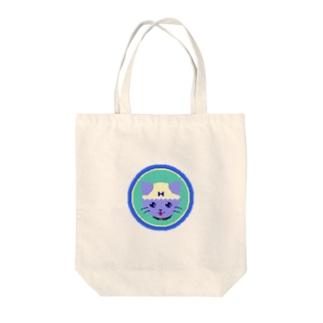 ぱんつねこ Tote bags