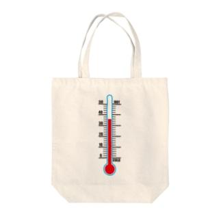 温度計 Tote bags
