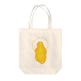Egg dorodoro Tote bags
