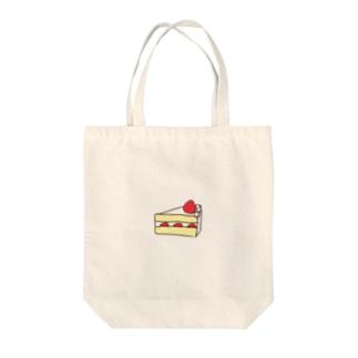 美味しい苺のショートケーキ Tote bags