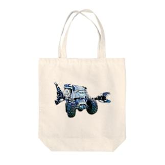 ボクの大好きなガジラ Tote bags