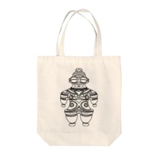 遮光器土偶  Tote bags