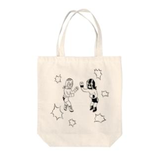 ルチャリブレ Tote bags