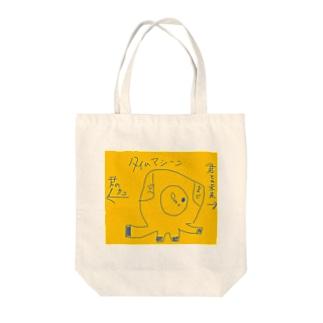 タイムトラベル Tote bags