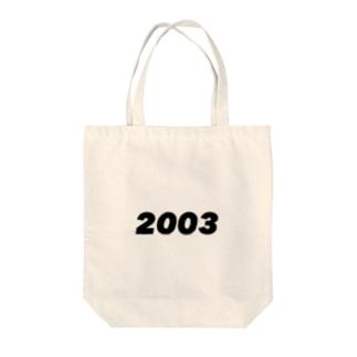2003 Tote bags