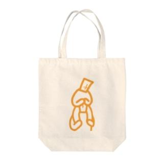 かたぐるま Tote bags