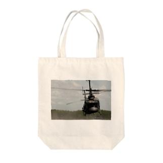 UH1Jくん Tote bags