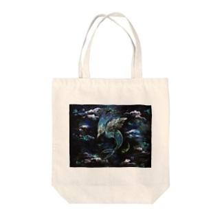 ∧( 'Θ' )∧ Tote bags