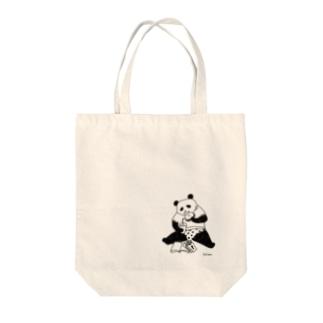 暴食パンダ(正面) Tote Bag