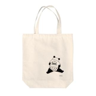 safiduuの暴食パンダ(背面) Tote Bag