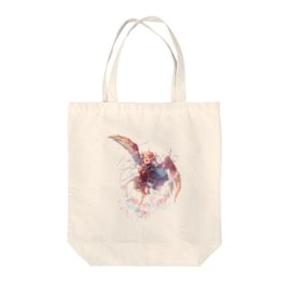 ハーピィ Tote bags