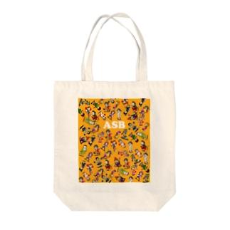 ASBスタッフキャラクターアイテム(オレンジ) Tote bags