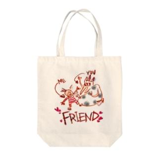 """Friend"" Tote bags"