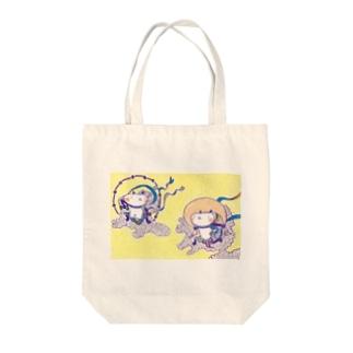 ouchi's shopのふ〜じんらいじんとーとばっぐ Tote bags