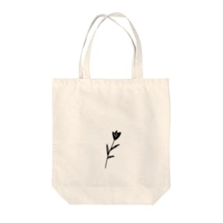 ちいさなお花 Tote bags