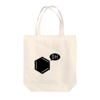 OH...フェノール... Tote bags