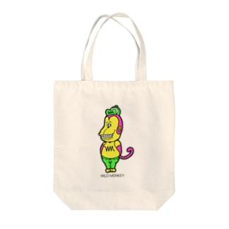 ワイルドモンキー Tote bags