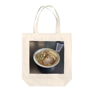 踊ろうサンダーバード醤油 ~麺硬めヤサイ背脂マシ~ Tote bags