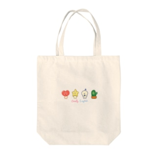 Comfy Friends こども英会話グッズ Tote bags