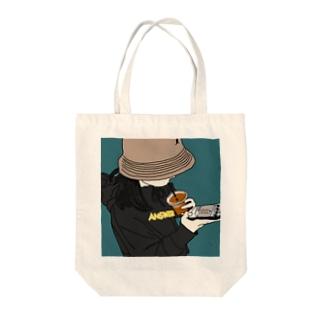 バケハgirl Tote bags