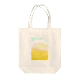 黄金のひかり Tote bags