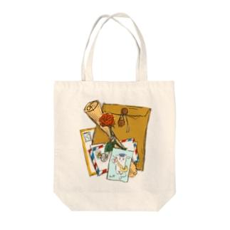 これはヤギのトートバッグ Tote bags