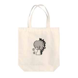 SCRAPKNOCKERのYou don't like me. I don't like you. Tote bags