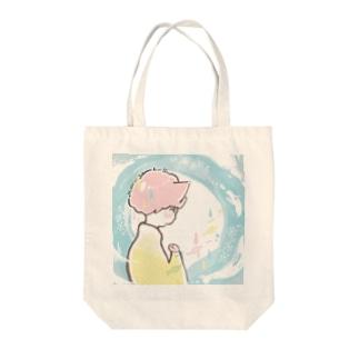 ねこさんの憂鬱 Tote bags