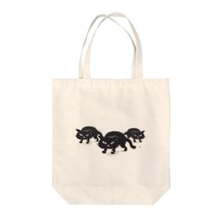 黒猫ちゃん Tote bags