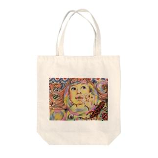 ふぁんしー Tote bags
