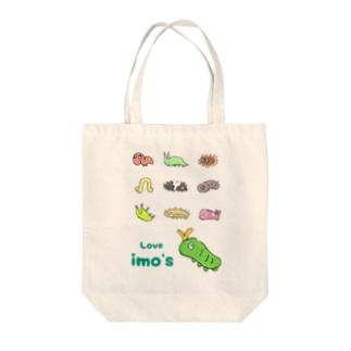 ゆるイモ Tote bags