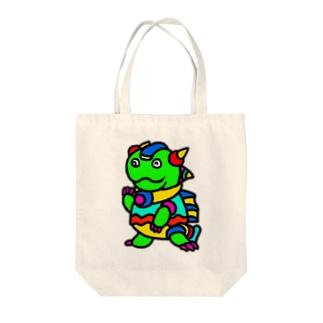 竜のパイルス Tote bags