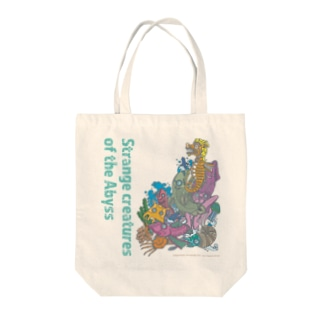 Abyss C Tote bags