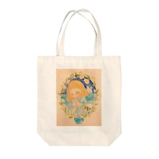 白鳥の湖🦢 Tote bags