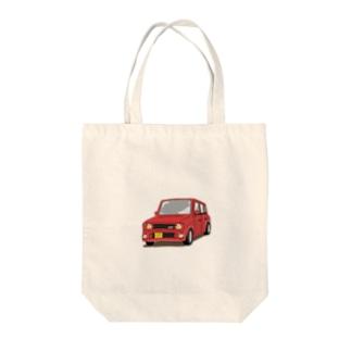 はちショップ🐝のラパンss (赤) Tote bags