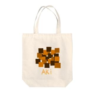 秋色Tシャツ Tote bags