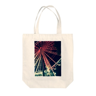 A Red Dream Tote bags