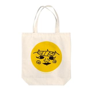 百日島丸ちゃん Tote bags