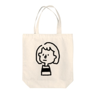 ぼーだーず女の子 Tote bags