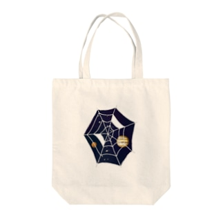 Spider☆Planets Tote bags