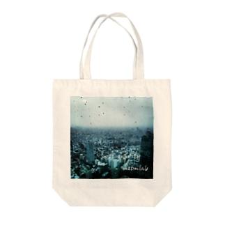みずたま研究所のLost gravity 02 Tote bags