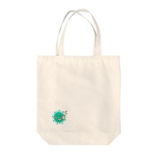 コロナウイルス コロナちゃん Tote bags
