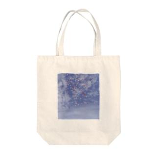 空と風船 Tote Bag