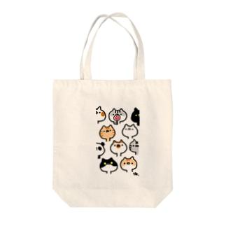 ねこ時々パンダ Tote bags