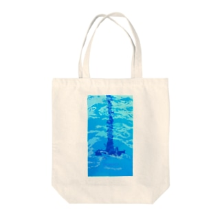 TAKE YOUR MARK Tote bags